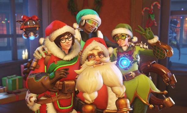 Overwatch อัพเดทใหญ่รับคริสต์มาส เพิ่มสกิน และโหมดใหม่