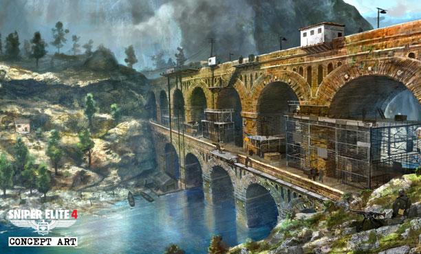 ชมภาพคอนเซ็ปต์สวยๆแต่ละด่านของเกม Sniper Elite 4