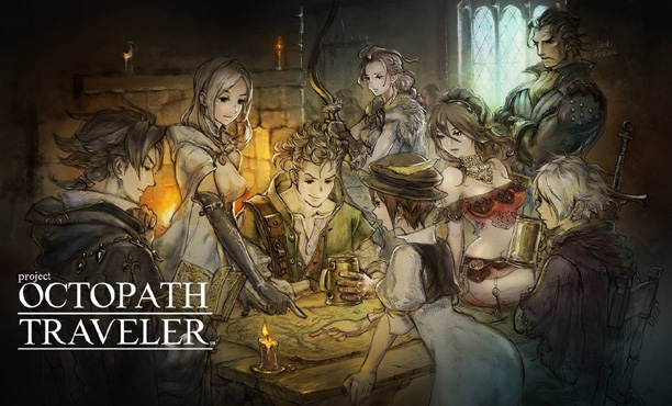 Octopath Traveler เกม RPG ของ Switch โดยผู้สร้าง Bravely
