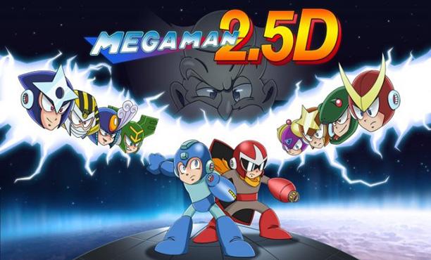 Mega Man 2.5D พัฒนาเสร็จแล้ว ดาวน์โหลดเล่นฟรี