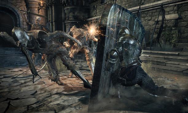 วีดีโอเกมเพลย์แรกของ Dark Souls III: The Ringed City