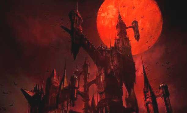 ภาพโปสเตอร์แรกของซีรี่ส์อนิเมชั่นเกม Castlevania ของ Netflix
