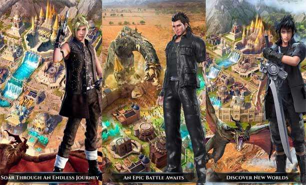 เจ้าชายและผองเพื่อนกลับมาอีกครั้งใน Final Fantasy XV: A New Empire