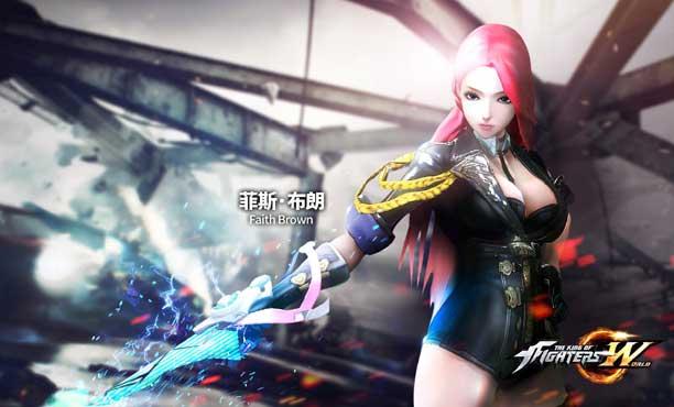 เปิดตัวนักสู้ใหม่คนที่สองจาก The King of Fighters World