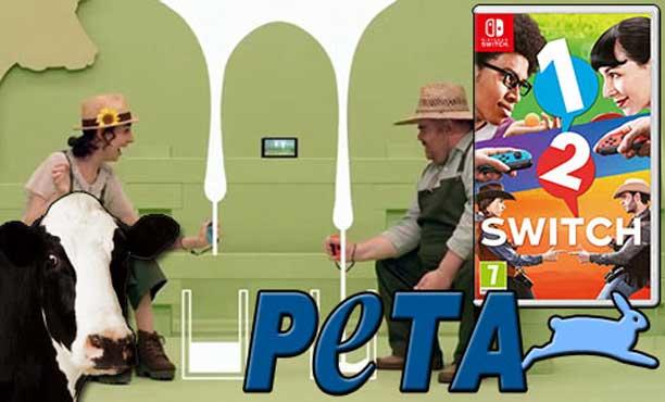 PETA เอาอีกแล้ว! โวยหาว่าเกม 1-2 Switch โหดร้ายกับสัตว์