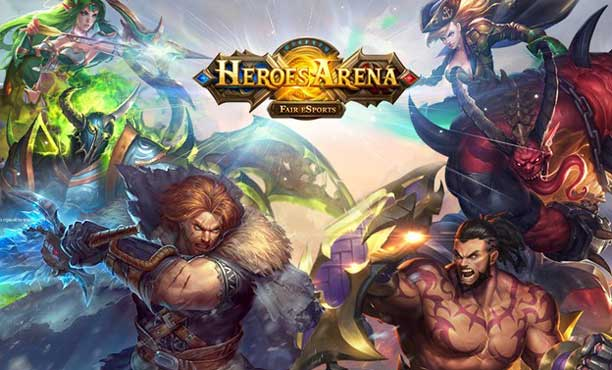 Heroes Arena เกม MOBA เปิดให้เล่นแล้วทั่วโลก ทั้ง iOS, Android