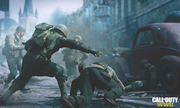 ชมตัวอย่างแรกของ Call of Duty: WWII พร้อมสกรีนช็อต