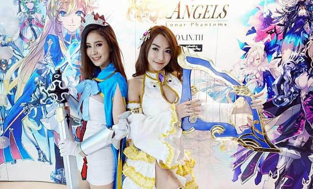 EXE เปิดตัว Empire of Angels เกมมือถือตัวแรกเน้นตัวละครสาวๆ