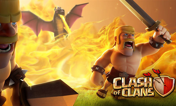 Clash of Clans ฝูงคนเถื่อน Barbarian พร้อมบุกป่วนทุกหมู่บ้าน