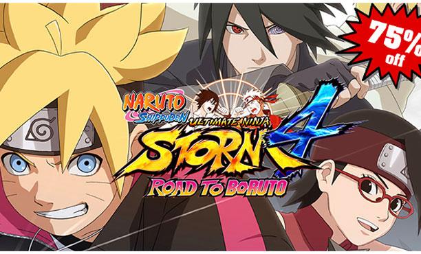 ลดราคาแทบแจกฟรี! เกม Naruto ภาคต่างๆใน Steam