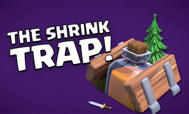 Clash of Clans ทดสอบความโหดกับดักใหม่ Shrink Trap ว่าทหารอ่อนแอลงแค่ไหน