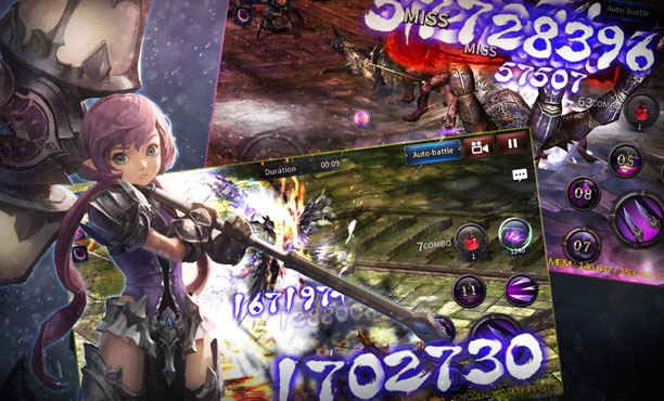Shadow Blood เกมแอคชั่นมือถือฮาร์ดคอร์ เปิดให้เล่นแบบภาษาไทย