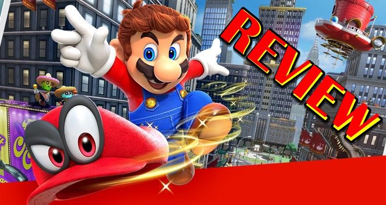 รีวิวเกม Super Mario Odyssey ลุงหนวดท่องโลกกับหมวกมหัศจรรย์ Switch