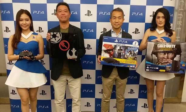 โซนี่จัดงานอุ่นเครื่องก่อน TGSBIG2017 เปิดตัวเกม PS4 ฉบับภาษาไทย