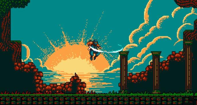 ชมเกม The Messenger เกมนินจาที่ได้แรงบันดาลใจจาก Ninja Gaiden