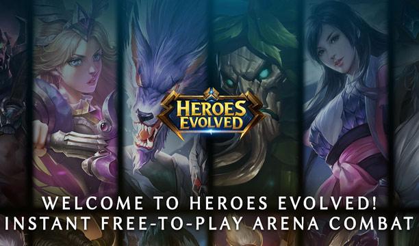 รีวิว Heroes Evolved เกม Moba น้องใหม่ เล่นได้ทั้งในมือถือและ PC