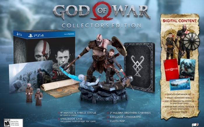 เปิดข้อมูลชุดพิเศษเกม God Of War บน PS4 พร้อมราคาขายในไทย