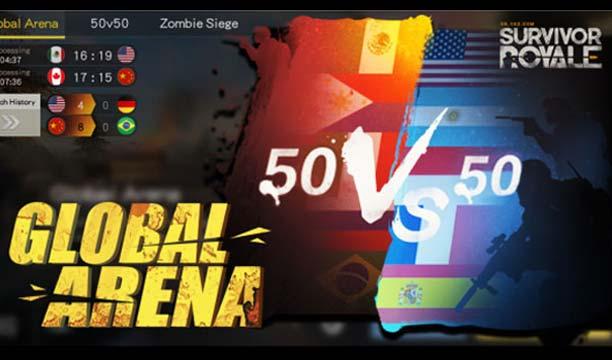 ร่วมสร้างชื่อให้ไทย ในเกม Survivor Royale ไปกับโหมดใหม่ Global Arena