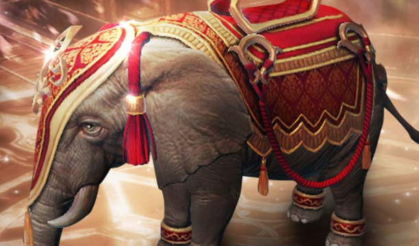 """Lineage2 Revolution เปิดตัวช้างศึก """"ไอยรา"""" สัตว์ขี่หายากตัวใหม่"""