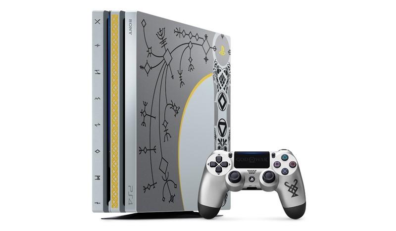 ชมภาพชัดๆเครื่อง PS4 Pro ลาย God Of War พร้อมเปิดราคาขายในไทย
