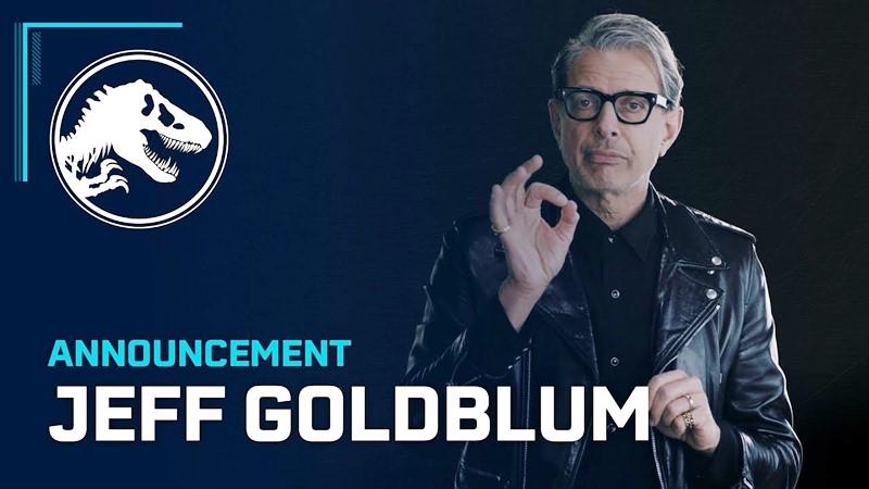 Jeff Goldblum กลับมารับบทเดิมอีกครั้งในเกม Jurassic World Evolution