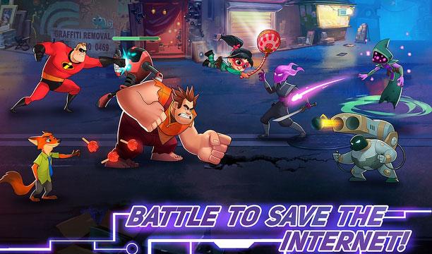 ฮีโร่จากดิสนี่ย์เขาก็มา Disney Heroes: Battle Mode เกมมือถือรวมเหล่าฮีโร่จากดิสนี่ย์