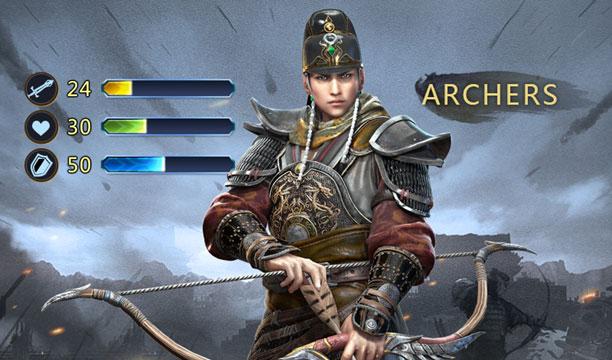 ตำราพิชัยสงคราม Kingdom Craft แนะนำพลธนูและพลหน้าไม้