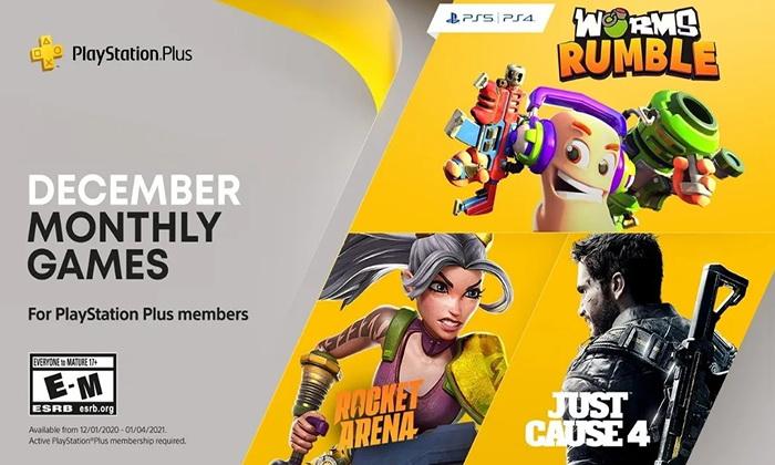 PlayStation Plus แจก 3 เกมเดือน ธ.ค. ได้ทั้ง PS4 และ 5