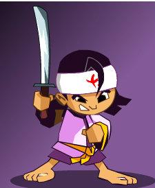 เกมส์ต่อสู้ 3foot ninja