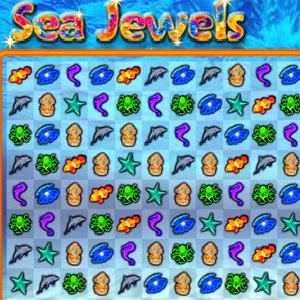 เกมส์เรียงเพชร Sea Jewels