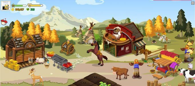 Farm World 2 จัดของใหม่ สไตล์คาวบอย