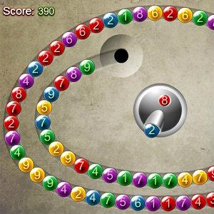 เกมส์ยิงลูกบอล Number Lines