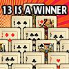 เกมส์ไพ่ เกมส์เปิดไพ่ 13 IS A WINNER!