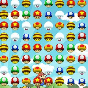 เกมมาริโอ้ Mario Mushroom Match
