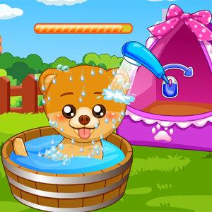 เกมส์อาบน้ำแต่งตัวน้องหมา