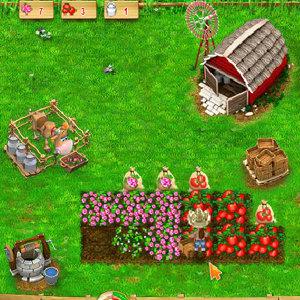 เกมส์สาวชาวไร่ปลูผักทำฟาร์ม