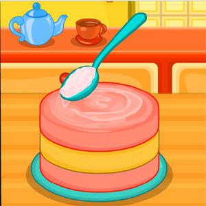 เกมส์ทำอาหาร เกมส์ทำสตอเบอรี่ชีสเค้ก