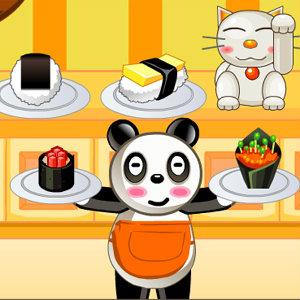 เกมส์ทำอาหาร เกมส์ร้านซูชิของแพนด้า