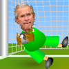 George Bush New Job :Goalkeeper