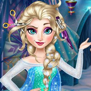 เกมส์ทำผมราชินีหิมะ