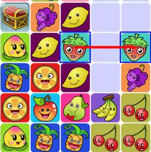 เกมส์จับคู่ Happy fruit