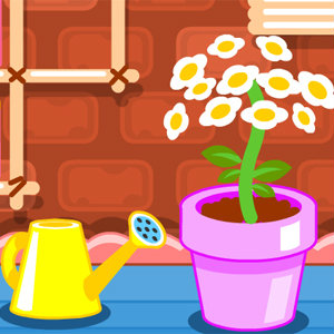 เกมส์ปลูกผัก cute flower studio