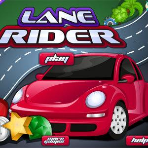 เกมส์รถแข่ง lane rider