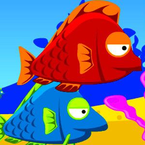 เกมส์เลี้ยงปลา fish eat fish