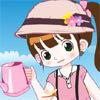 Little Gardener Girl Dressup