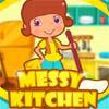 เกมส์แต่งบ้าน messy kitchen