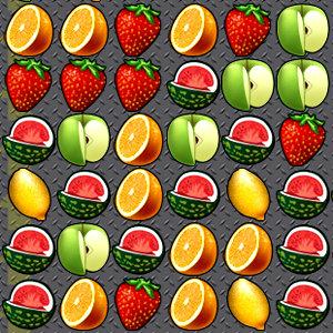เกมส์เรียงเพชร Fruit crazy