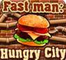 เกมส์ฝึกสมอง fast man hungry city
