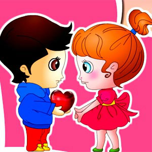 เกมส์ผจญภัย valentine 's day kids