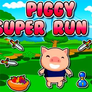เกมส์แอ๊คชั่น piggy super run